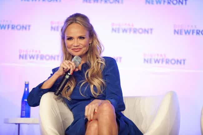 Kristin Chenoweth is listed (or ranked) 1 on the list 18 Celebrities Who Were in Gamma Phi Beta
