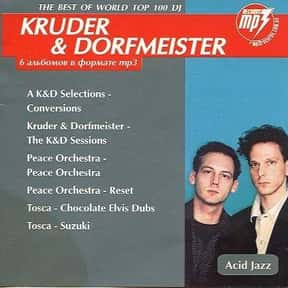 Kruder & Dorfmeister is listed (or ranked) 17 on the list The Best Trip Hop Bands/Artists