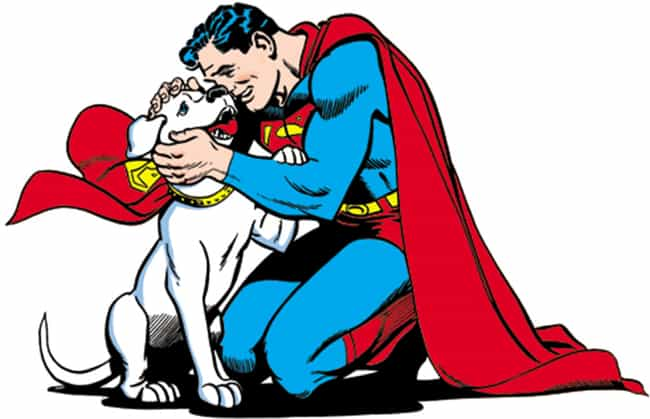 Krypto is listed (or ranked) 1 on the list The Best Comic Book Animal Companions