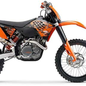 KTM is listed (or ranked) 8 on the list The Best Motorcycle Brands