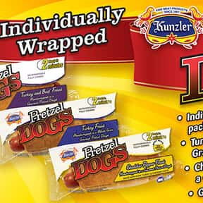 Kunzler & Company is listed (or ranked) 10 on the list The Hottest Hot Dog Brands Ever
