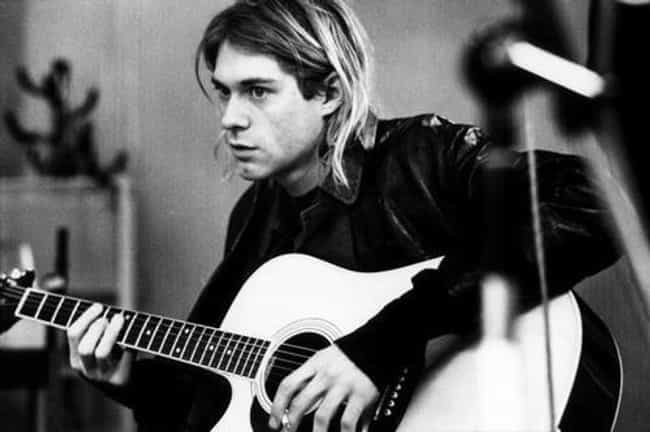 Kurt Cobain is listed (or ranked) 2 on the list The Hottest Male Singers