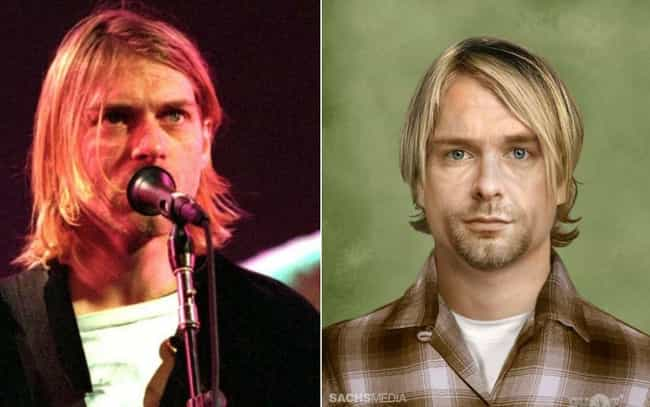 Kurt Cobain is listed (or ranked) 5 on the list This Artist Imagined How These Dead Rock Stars Would Look If They Were Still Alive Today