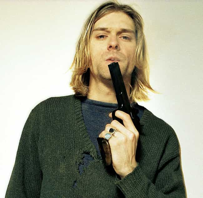Kurt Cobain is listed (or ranked) 3 on the list Famous People Who Died of Gunshot Wounds