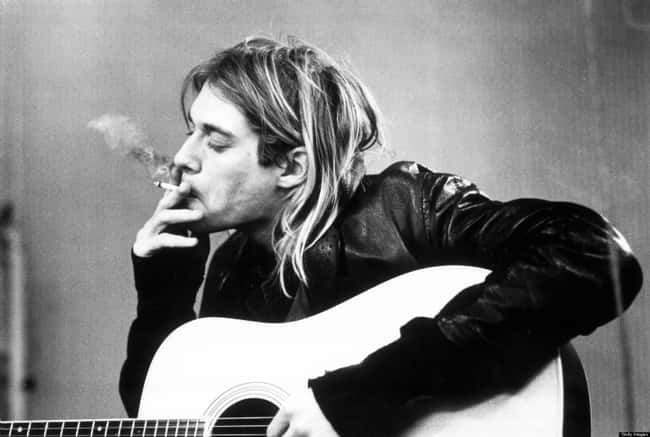 Kurt Cobain is listed (or ranked) 6 on the list 29 Famous People (Allegedly) Killed by the Illuminati