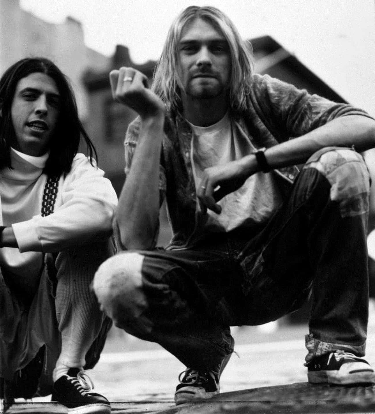 Kurt Cobain is listed (or ranked) 1 on the list Famous Friends of Dave Grohl