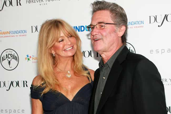 Kurt Russell is listed (or ranked) 1 on the list Famous Long-Term Couples Who Never Married