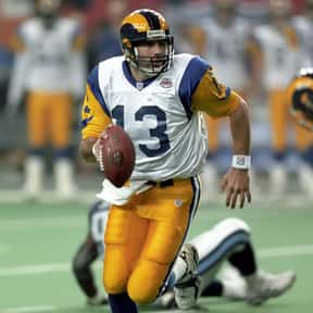 Kurt Warner is listed (or ranked) 3 on the list The Best Los Angeles Rams of All Time