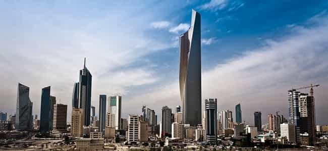 Kuwait is listed (or ranked) 2 on the list Countries in Arabian Peninsula