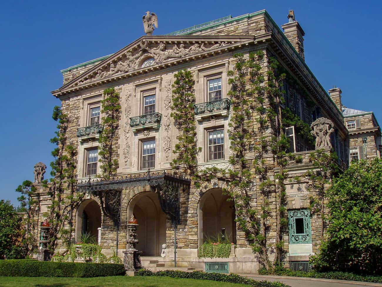 Kykuit Mansion Has Six Swimmin is listed (or ranked) 4 on the list The Most Unbelievably Excessive Homes In US History