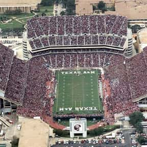 Kyle Field is listed (or ranked) 3 on the list The Best College Football Stadiums