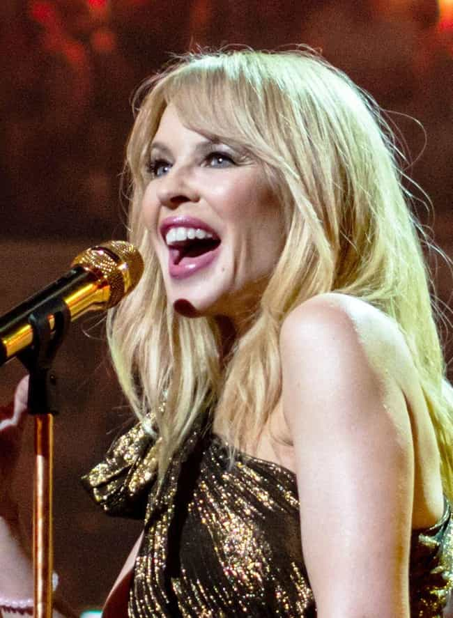 Kylie Minogue is listed (or ranked) 4 on the list Celebrities Who Shop at Thrift Stores