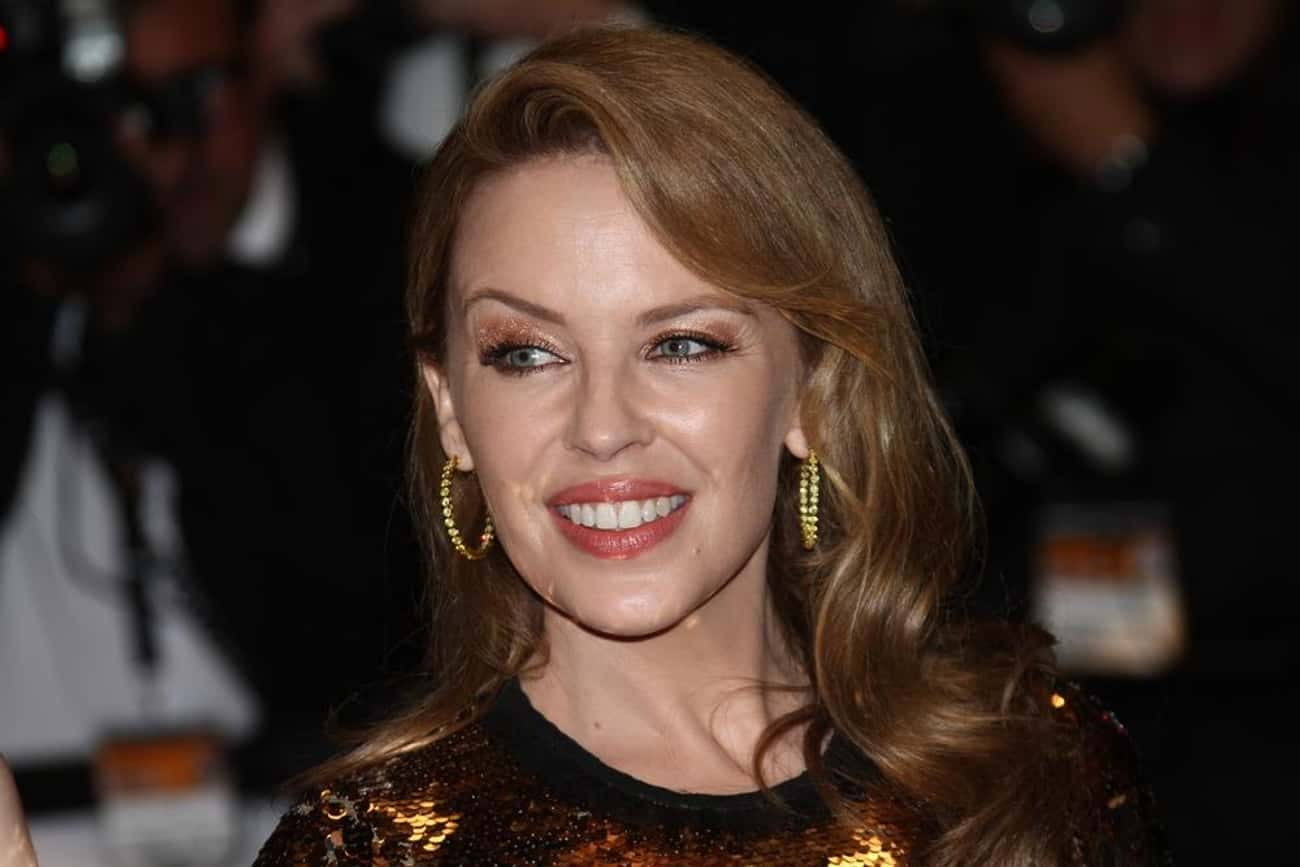"""Kylie Minogue is listed (or ranked) 3 on the list Female Celebrities Who Are 5'0"""""""
