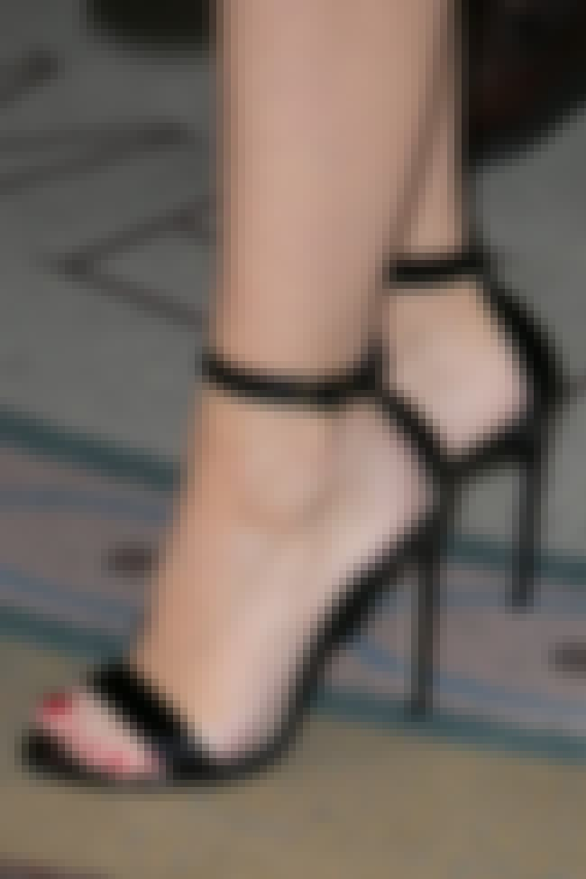 Kylie Minogue is listed (or ranked) 4 on the list The Celebrities with the Sexiest Feet