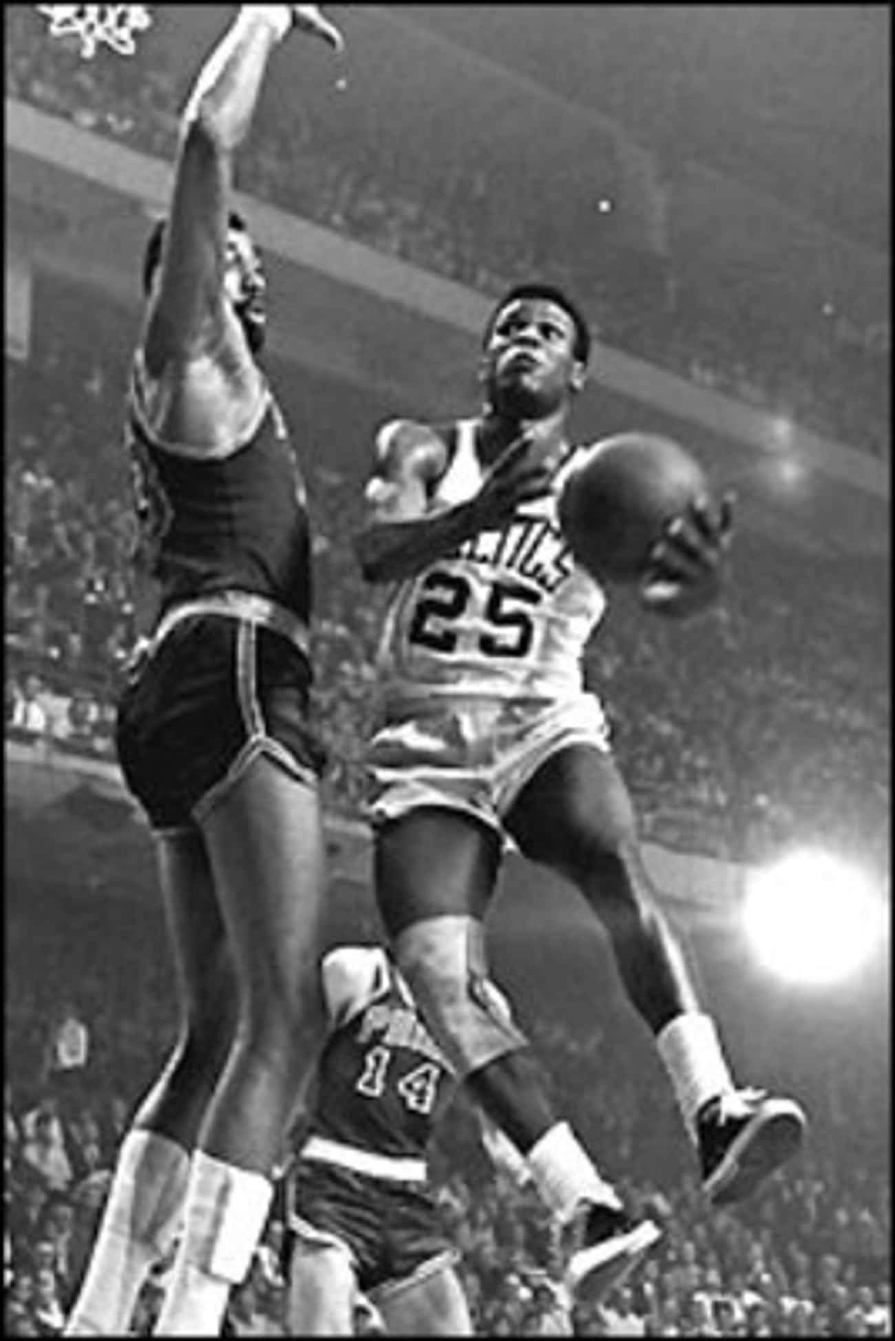 K. C. Jones is listed (or ranked) 2 on the list The Best Athletes Who Wore #27