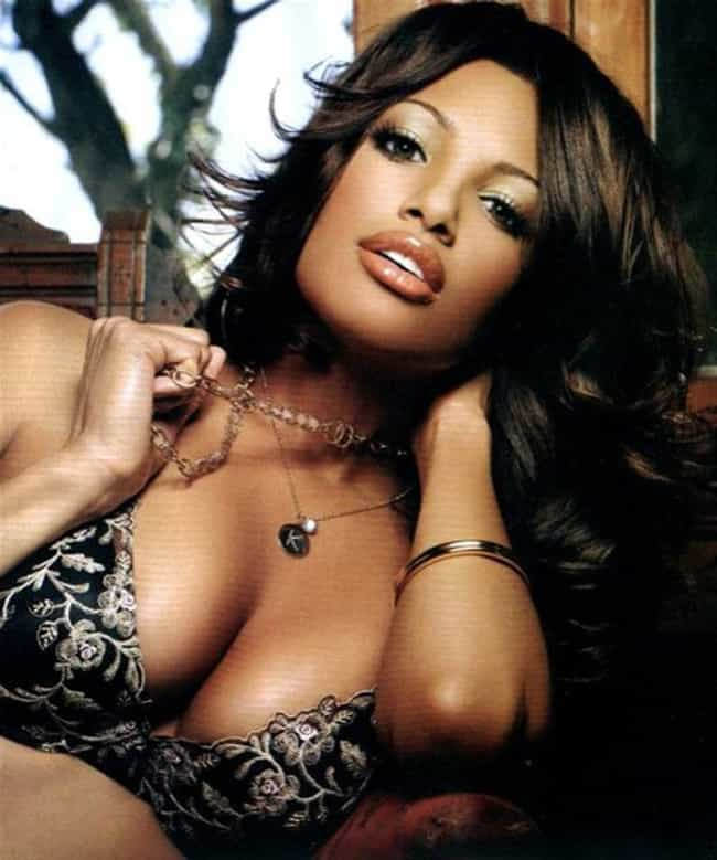 K. D. Aubert is listed (or ranked) 4 on the list The Hottest Black Celebrity Women