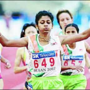 K. M. Beenamol is listed (or ranked) 8 on the list Famous Female Athletes from India