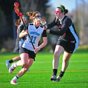 Lacrosse is listed (or ranked) 12 on the list The Best Team Sports for Girls