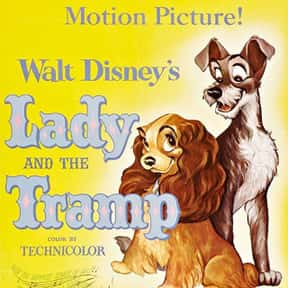 Lady and the Tramp is listed (or ranked) 3 on the list The Best Movies for Toddlers