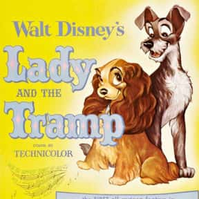Lady and the Tramp is listed (or ranked) 4 on the list The Greatest Dog Movies Of All Time