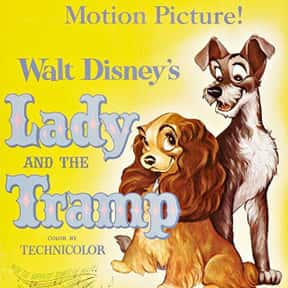 Lady and the Tramp is listed (or ranked) 2 on the list The Best Disney Movies Starring Animals