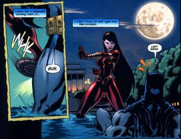 Lady Shiva Helps Rehabilitate Batman by Beating Him Over and Over