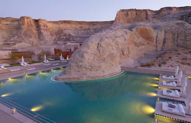 Lake Powell is listed (or ranked) 3 on the list The 35 Coolest Pools in the World
