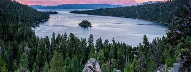 Lake Tahoe is listed (or ranked) 6 on the list The Most Beautiful Places In America