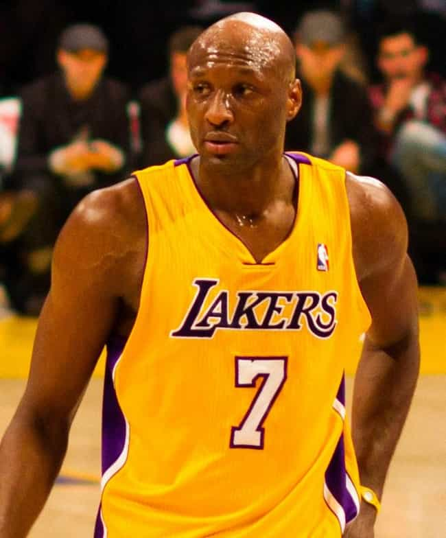 Lamar Odom is listed (or ranked) 3 on the list Taraji P. Henson Loves and Hookups