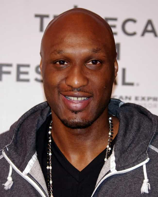 Lamar Odom is listed (or ranked) 2 on the list Athletes Who Were Drug Addicts