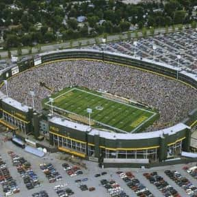 Lambeau Field is listed (or ranked) 17 on the list The Best NFL Stadiums
