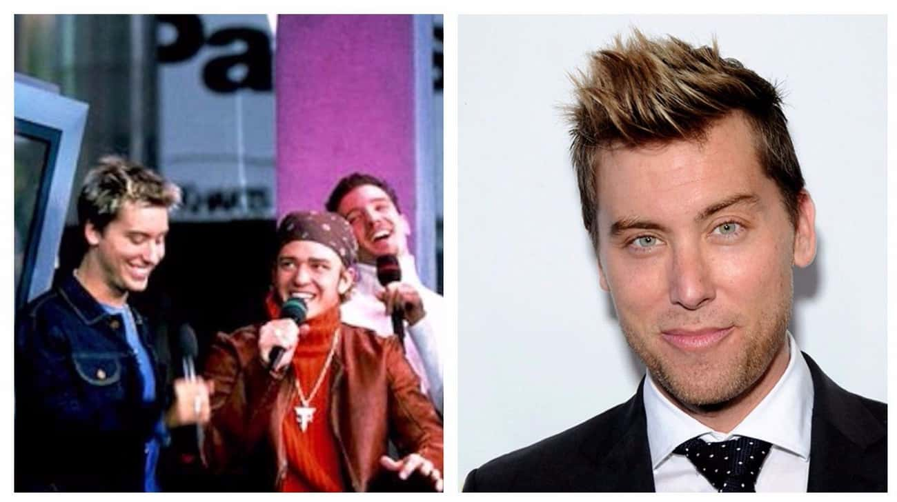 Lance Bass is listed (or ranked) 3 on the list What Celebrities Looked Like On TRL Vs. What They Look Like Today