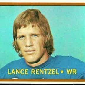 Lance Rentzel is listed (or ranked) 17 on the list The Best Dallas Cowboys Wide Receivers of All Time