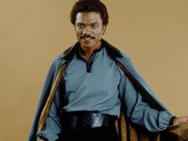Lando Calrissian is listed (or ranked) 4 on the list Beloved Movie Characters Who Should Make a Comeback