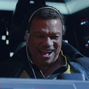 Lando Calrissian is listed (or ranked) 25 on the list Which 'Star Wars' Character Is The Best Skateboarder?