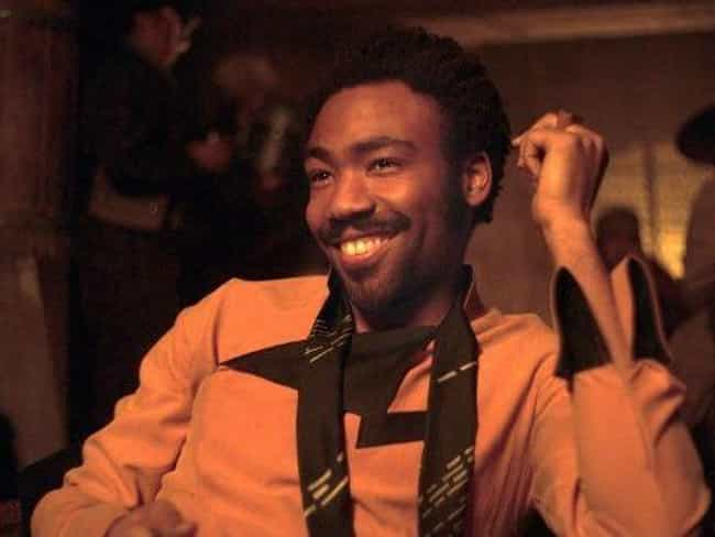 Lando Calrissian is listed (or ranked) 2 on the list Pansexual Characters In Fiction