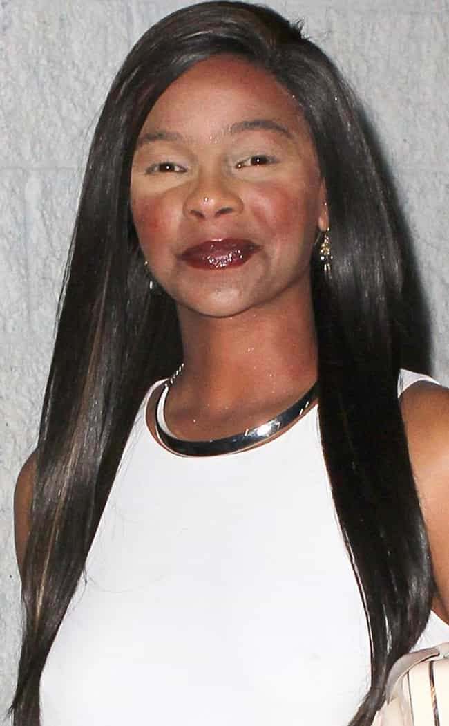 Lark Voorhies is listed (or ranked) 1 on the list The Worst Celebrity Makeup Fails