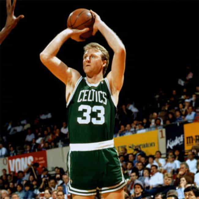 Larry Bird is listed (or ranked) 4 on the list The Best Three-Point Shooters in NBA History