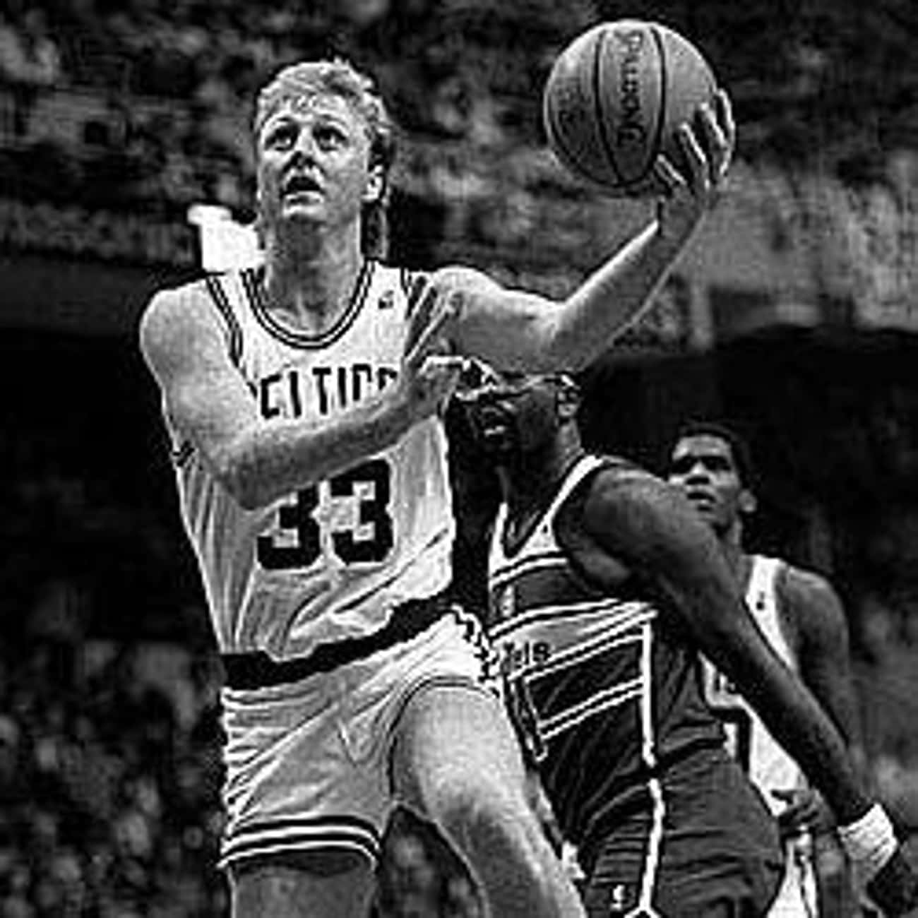 Larry Bird is listed (or ranked) 2 on the list The Best Athletes Who Wore #33