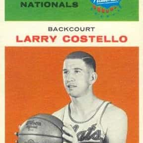 Larry Costello is listed (or ranked) 23 on the list Famous Niagara University Alumni