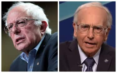 Bernie Sanders - Larry David is listed (or ranked) 2 on the list 21 Real Politicians Vs Their 'SNL' Impressions