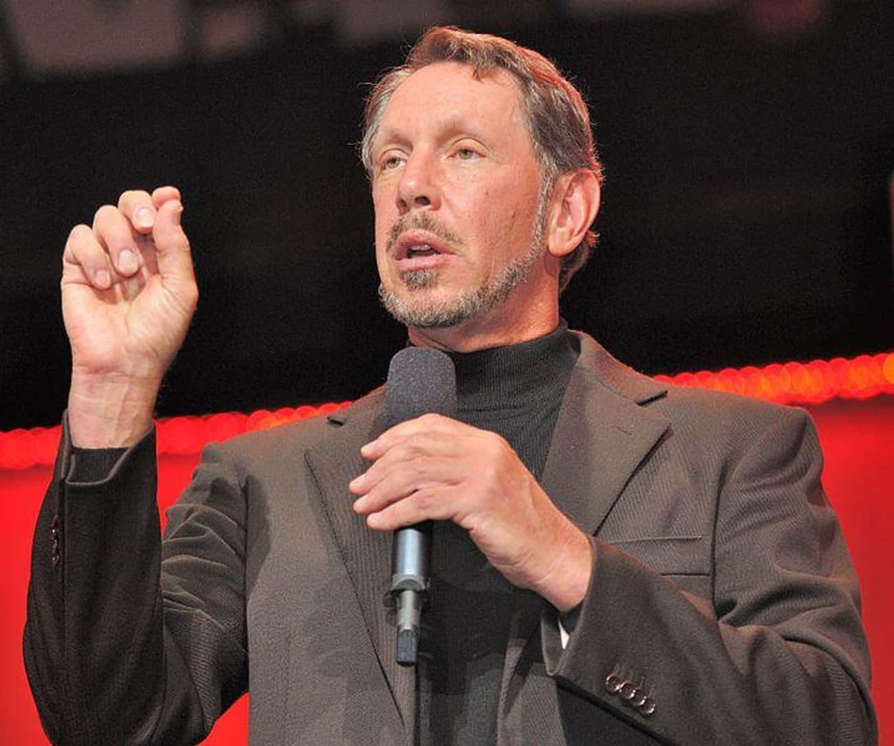 Larry Ellison Has A Speedboat  is listed (or ranked) 2 on the list 15 Ridiculous Jobs Celebrities Reportedly Employ People To Do