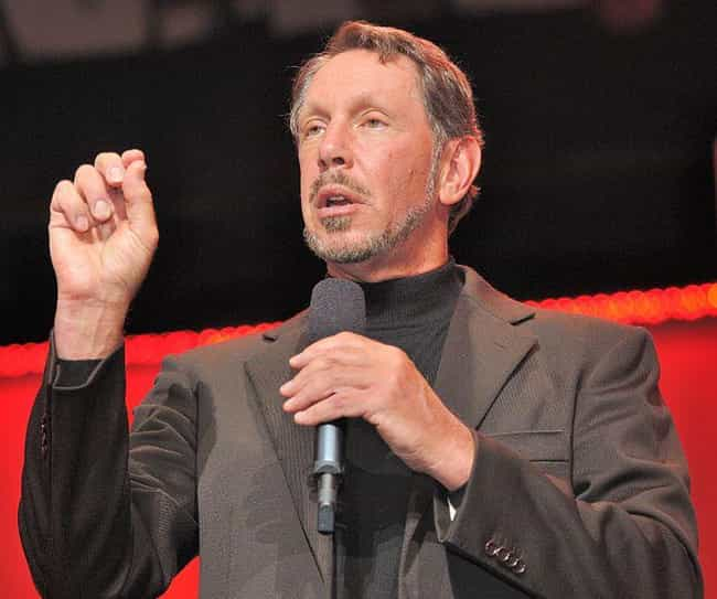 Larry Ellison is listed (or ranked) 4 on the list 15 Ridiculous Jobs Celebrities Reportedly Employ People To Do