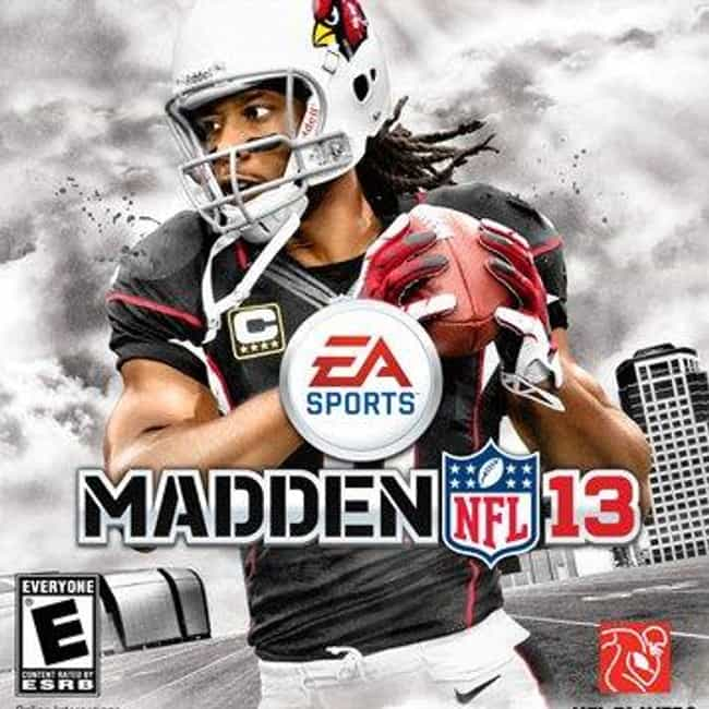 Larry Fitzgerald is listed (or ranked) 4 on the list The Best Madden NFL Cover Athletes