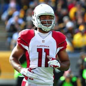 Larry Fitzgerald is listed (or ranked) 6 on the list The Best Football Players Ever