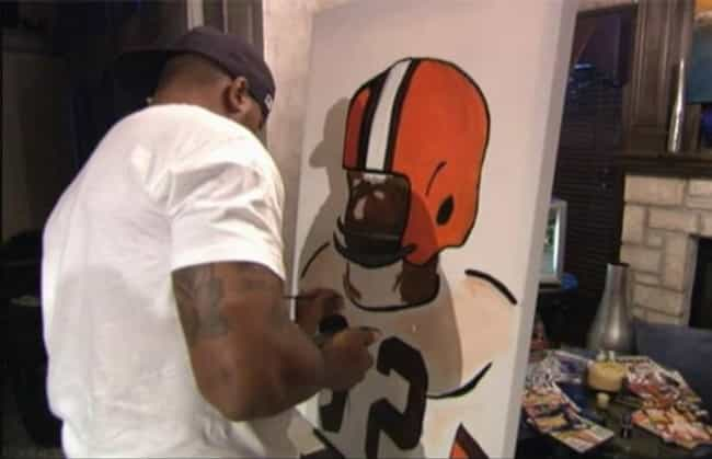 Larry Johnson is listed (or ranked) 2 on the list 10 Pro Athletes Who Are Also Accomplished Artists