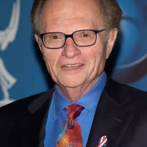 Larry King is listed (or ranked) 23 on the list American Public Figures Who Are National Treasures