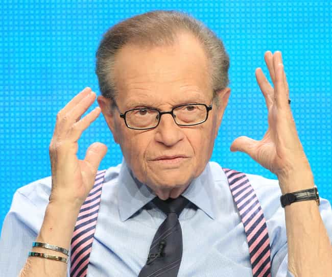 Larry King is listed (or ranked) 2 on the list 33 Celebrities Who Have Declared Bankruptcy