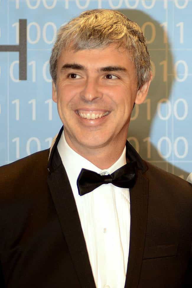Larry Page is listed (or ranked) 1 on the list Famous Male Computer Scientists
