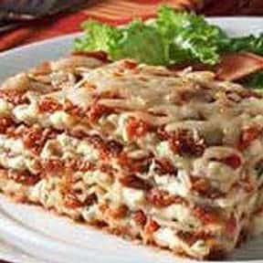 Lasagne is listed (or ranked) 18 on the list The Most Delicious Foods in the World